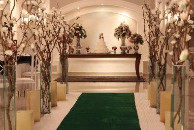 Entrada dos noivos buffet para casamento
