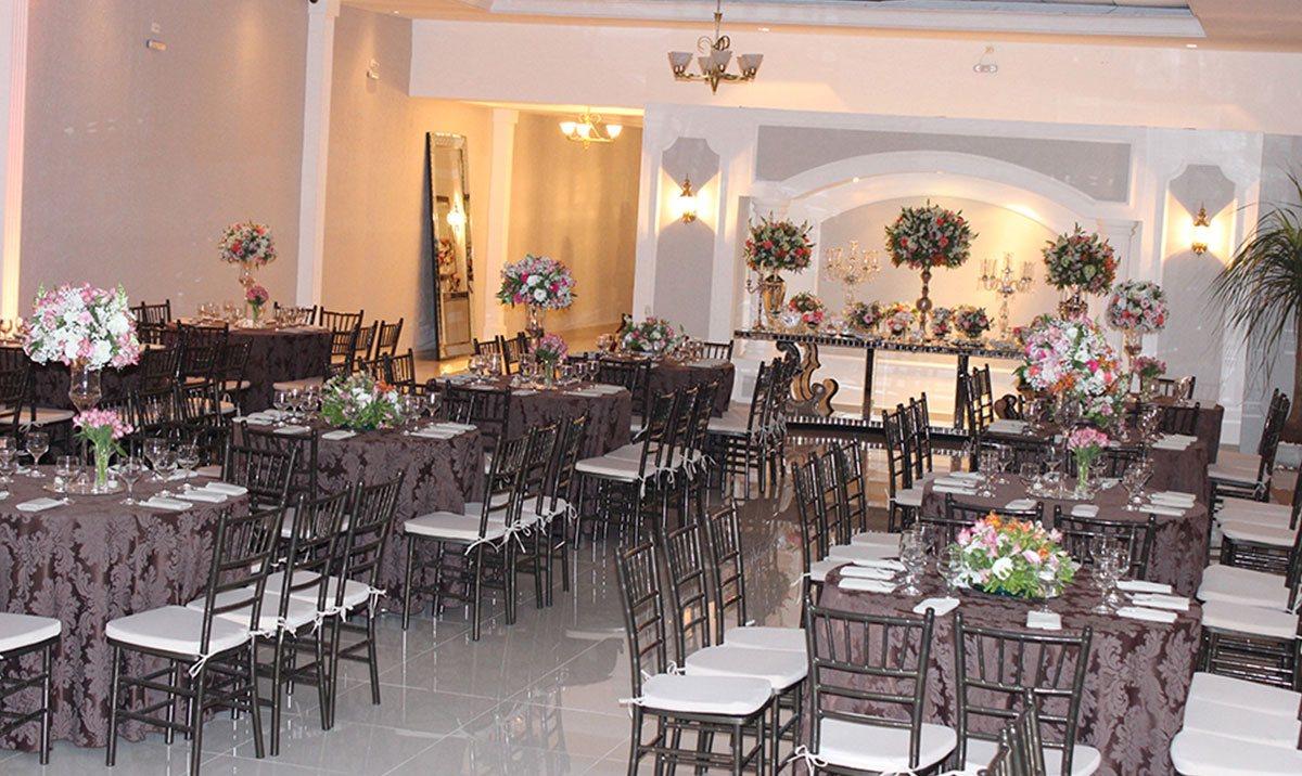 Decoração salão para casamento