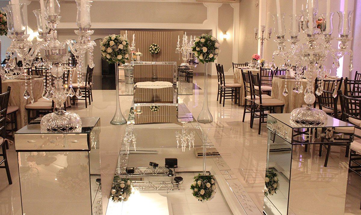 Decoração buffet de casamento