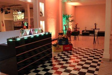 Bar para festa de aniversário