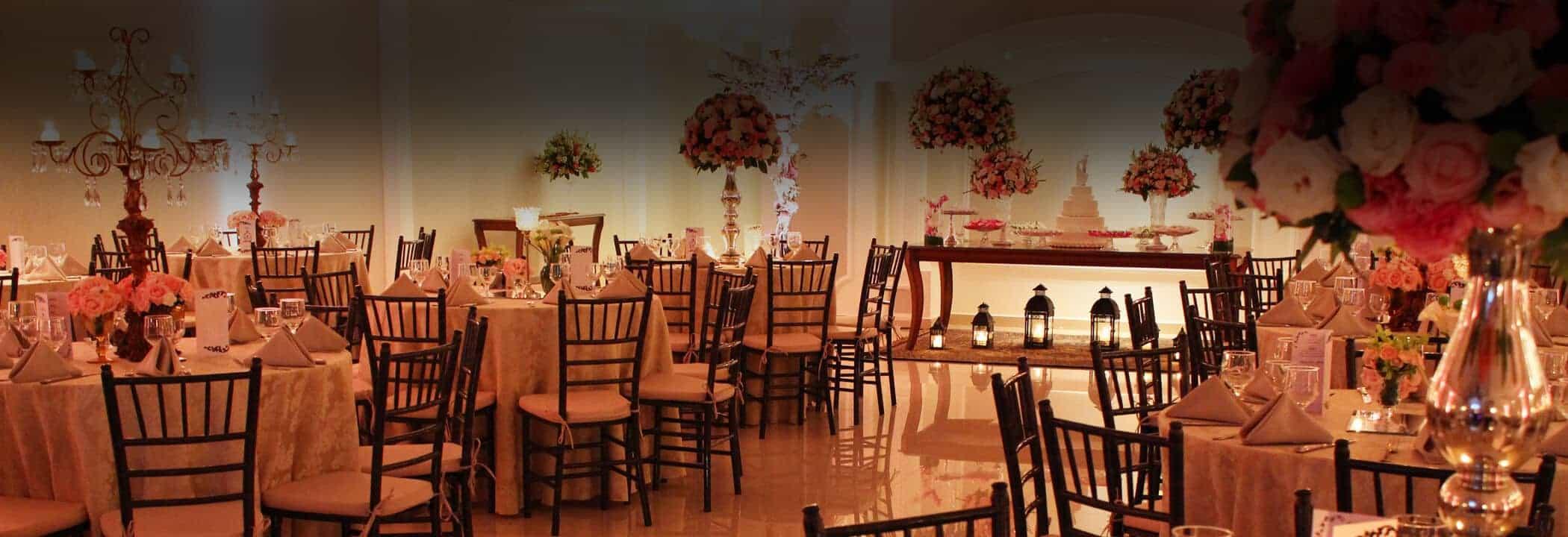 Salão de Casamento do Buffet Finesse