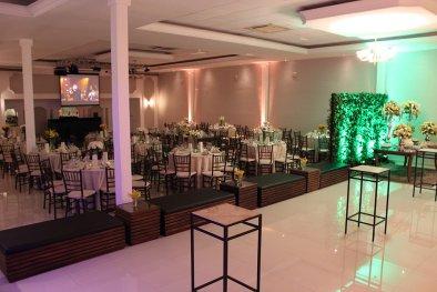 Salão para bodas de ouro