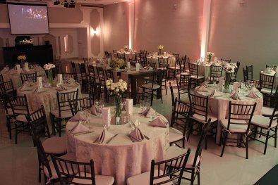 Salão para bodas de prata