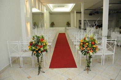 Cerimônia festa de bodas