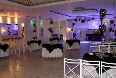 Salão para festa de confraternização de empresa