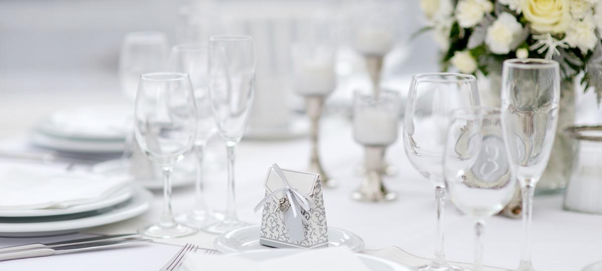 Decoração de bodas de prata