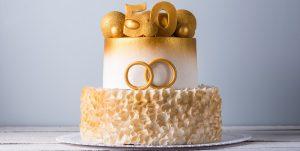 bolo cerimonial bodas de ouro
