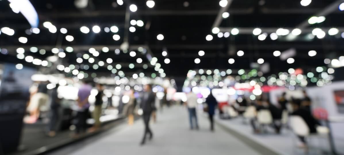 Buffet para feiras e congressos
