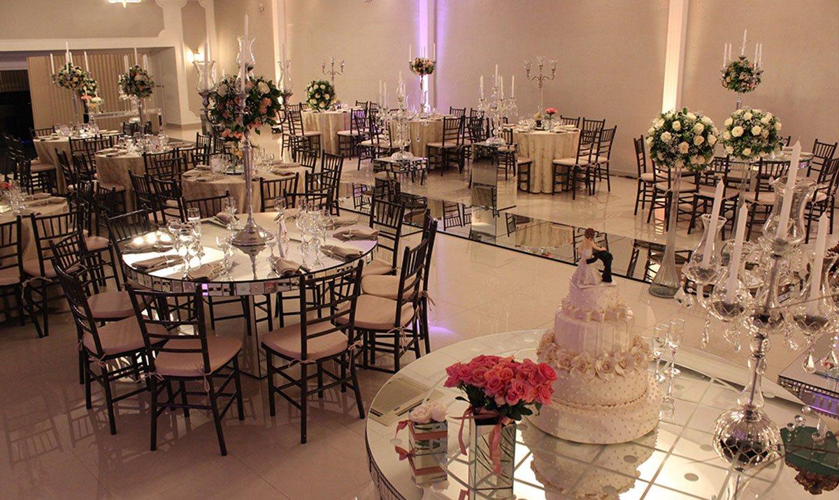 Decoração salão de casamento