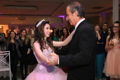 Salão de dança festa de 15 anos
