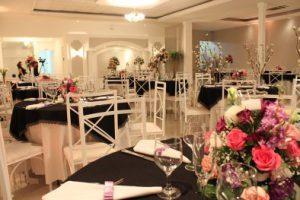 Decoração para festa de bodas