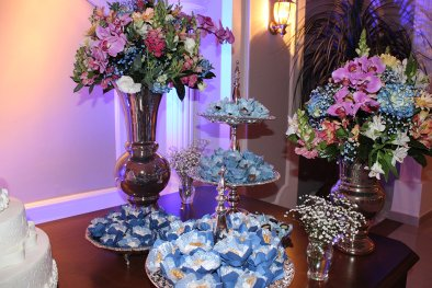 Flores para festa de bodas