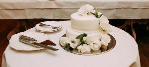 bolo bodas de porcelana