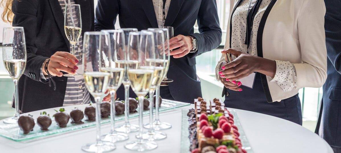 Festa de confraternização de empresas